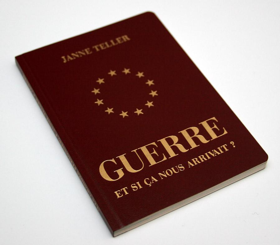 couverture du livre Guerre de Janne Teller